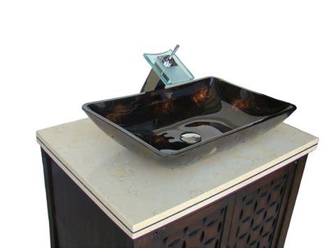 30 vessel sink vanity 30 quot benton collection modern style vessel sink giovanni