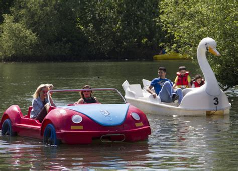 Swan Paddle Boating Near Me by Where To Go Boating In Londonist