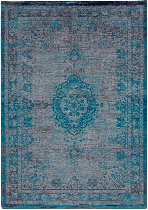 louis de poortere louis de poortere the fading world medallion grey turquoise tapijt tapijten