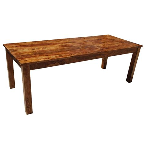 classic rustic solid wood cariboo dining table