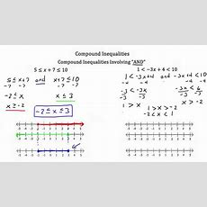 Solving Compound Inequalitiestextbook Tactics Youtube