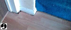 How to lay laminate flooring for How to lay laminate flooring through a doorway