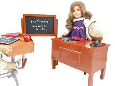 american desk set teacher desk and play set for 18 quot american
