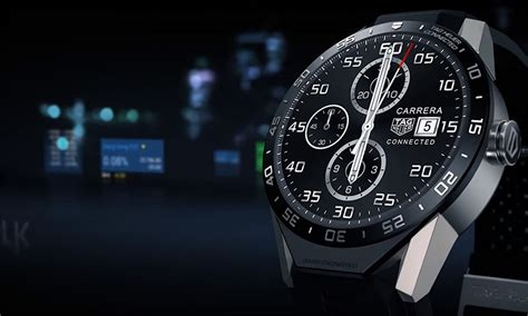 tag heuer connected im test