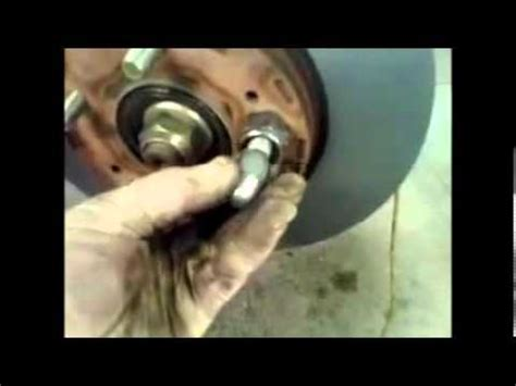 replace front brake pads mitsubishi outlander