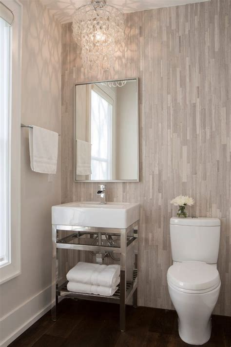 powder room tile wall powder room transitional  glass