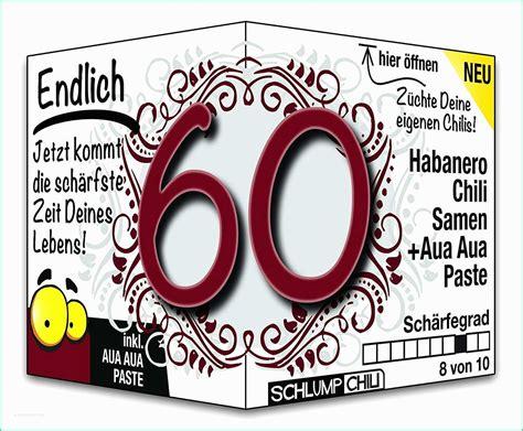 lustige geschenke zum 60 geburtstag mann sch 246 n spr 252 che 60