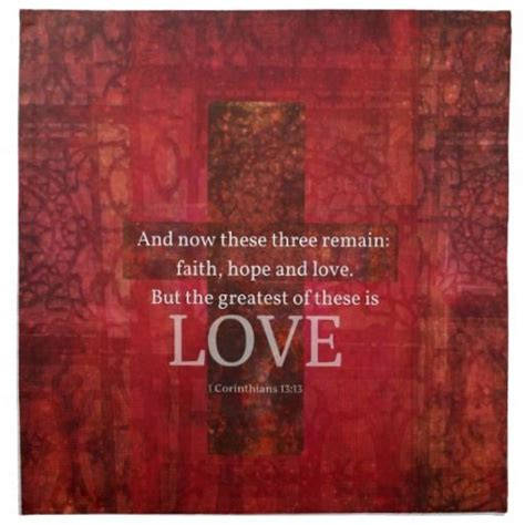 bible verses  love red cross painting