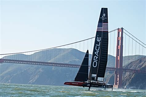 Oracle Boat by Oracle Boat Wins America S Cup Guided By Senix Ultrasonic