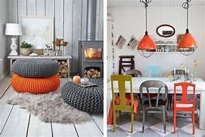 Les chaises depareillees qui egayent lambiance de la for Idee deco cuisine avec chaise salle a manger originale
