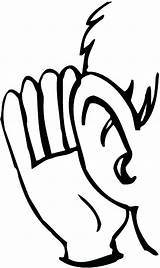 Listening Ear Ears Coloring Pages Drawing Human Hear Listen Mlm Lobe Leads Sign Template Line Convert Clipart Adults Drawings Getdrawings sketch template