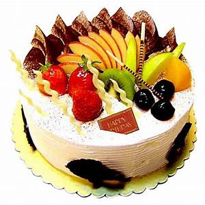 1kg Mix fruit fresh cake