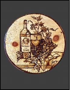 Hand Made Da Vinci, Wood Burned Plaque, Pyrography, Custom