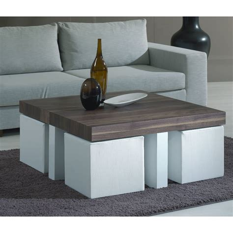 coffee table with pull out seats coffee table with stools love this idea for stools