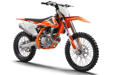 import motocross bikes ktm announces 2018 sx f motocross bikes 7 fast facts