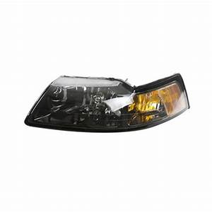 2001-04 Ford Mustang Tinted Headlights - LMR.com