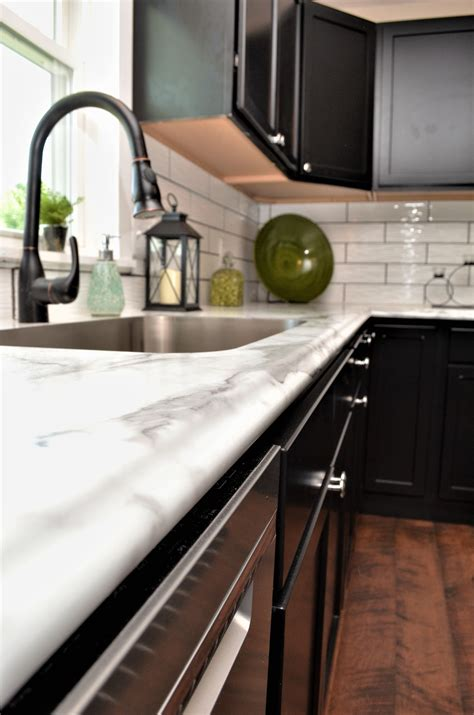 laminate countertop edge style calacatta marble