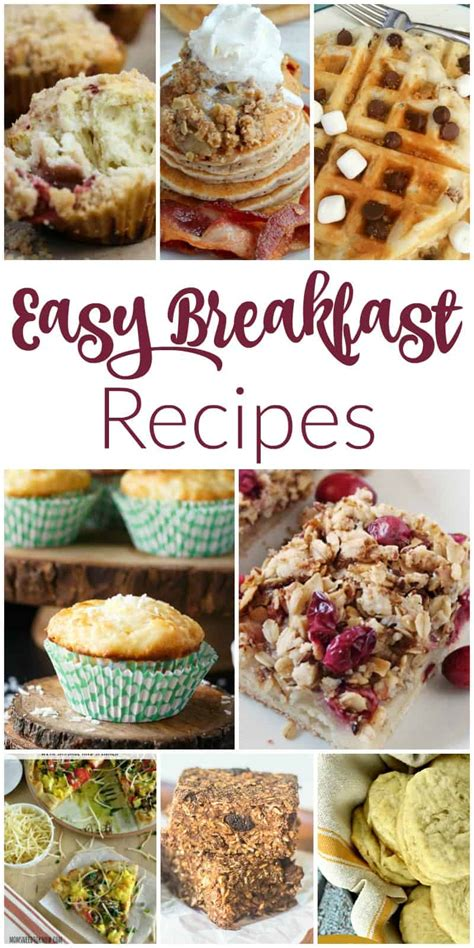 easy breakfast recipes and our delicious dishes recipe