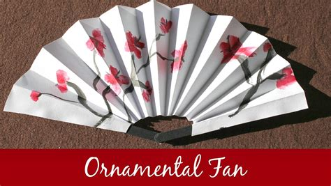 Marie 39 S Pastiche Chinese Fans How To Make An Ornamental Fan
