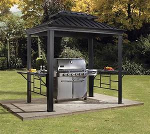 überdachung Für Grill : neu ovp sojag aluminium gazebo grill pavillon berdachung ~ Lizthompson.info Haus und Dekorationen