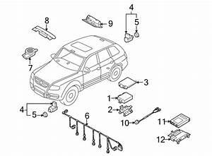 2006 Volkswagen Touareg Parking Aid Control Module