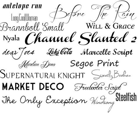 19 Best Images About Free Fonts On Pinterest