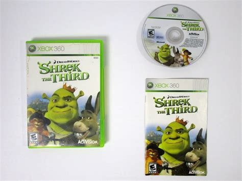 Shrek The Third Game For Xbox 360 (complete)