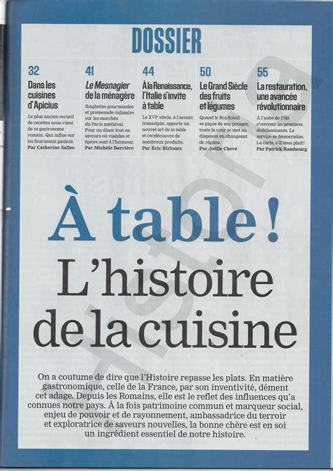 histoire du virolois a table histoire de la cuisine