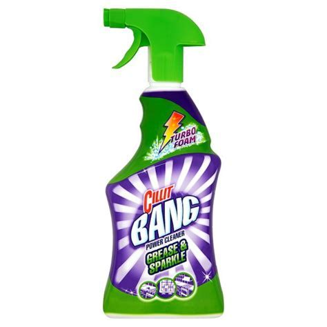 Cillit Bang Grease And Sparkle Spray 750Ml