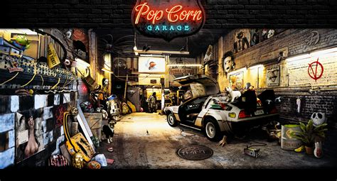 Where Is All Garage Filmed by Popcorn Garage