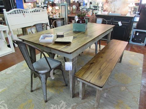 table with bench rustic farm table with bench drop leaf table wine