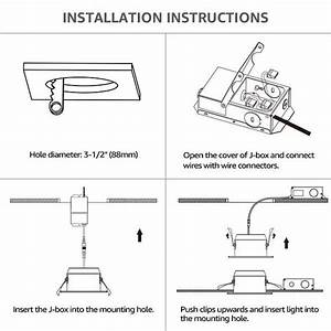 Halo Recessed Lighting Installation Instructions