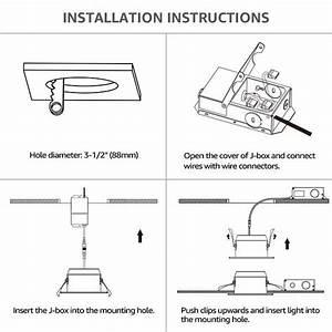 Halo Recessed Lighting Installation Instructions