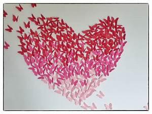 choix des couleurs de peinture 11 diy tableau coeur With choix des couleurs de peinture