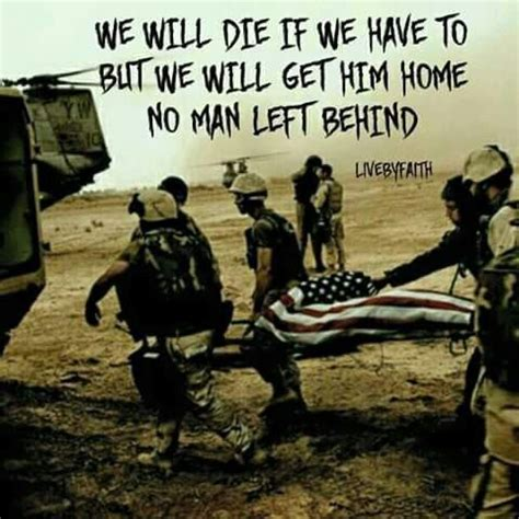 No Soldier Left Behind Quotes