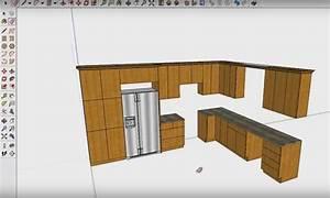 Plan De Cuisine 3d : logiciel conception cuisine gratuit 6 ce plan de ~ Nature-et-papiers.com Idées de Décoration