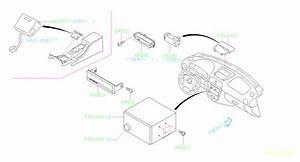 Subaru Impreza Sedan Clock  Radio  Audio