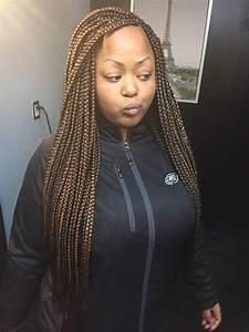 Waist length box braids   Braid styles I want to try ...