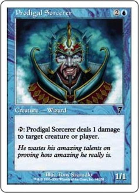 sorcerer of magic deck 2006 prodigal sorcerer the magic the gathering wiki magic