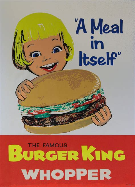 Do You Need A Resume For Burger King by Vintage Ads Fast Food Print Ads From The Past