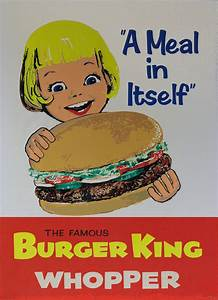 Vintage Ads: Fast Food Print Ads From The Past