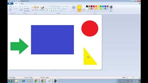 how to fill color in ms paint