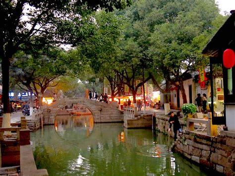 canals  suzhou  nicknamed  venice  china