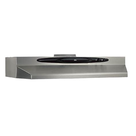 under cabinet vent hood installation broan qt230ssn 30 in undercabinet range hood stainless