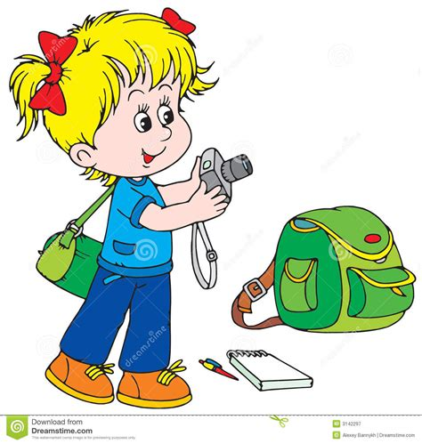 11388 school photographer clipart nurturing positivism individuality and creativity among