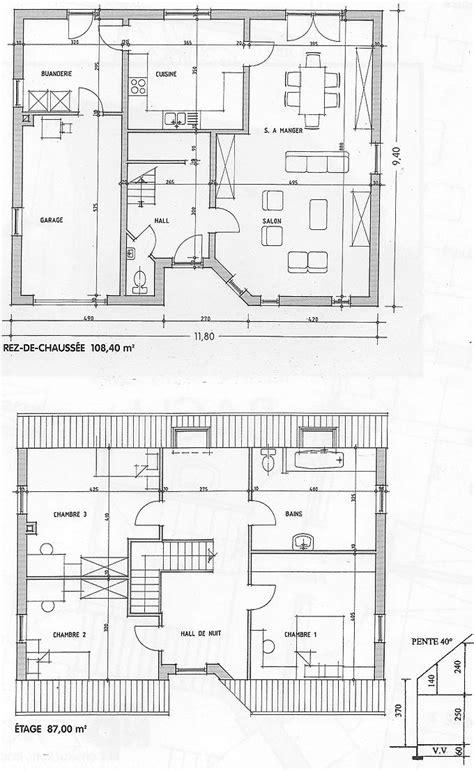 plan de maison entreprise de construction sur namur et en belgique