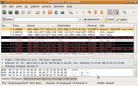 packetstan using scapy to select a range of pcap records