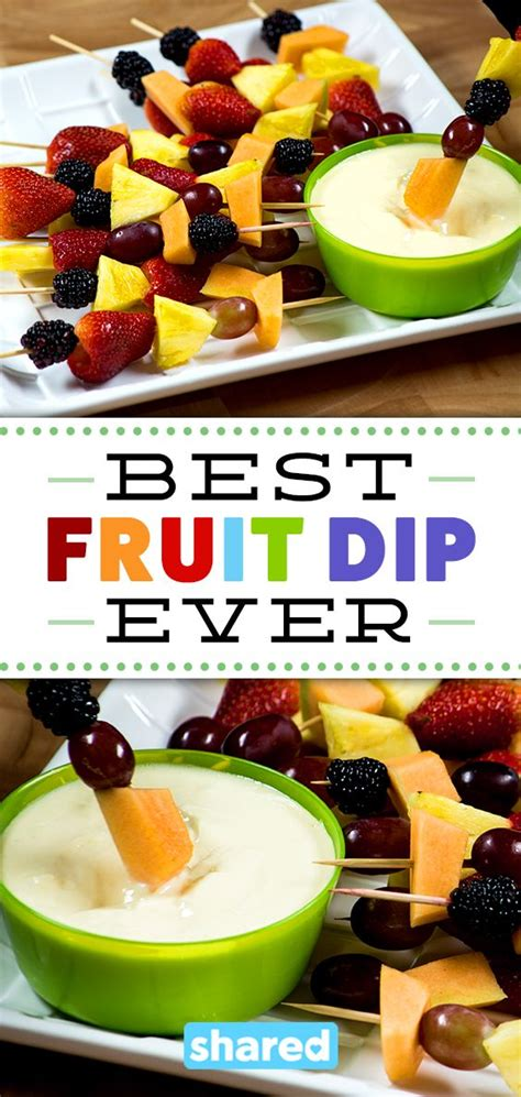 Best Fruit Dip Ever Desserts Pinterest Fruit