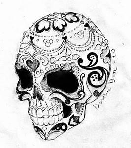 Crane Mexicain Dessin : tatouage cr ne les plus beaux motifs cr nes pour un tattoo ~ Melissatoandfro.com Idées de Décoration