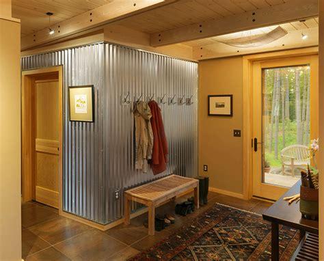 Corrugated Metal Backsplash : Corrugated Metal In Interior Design